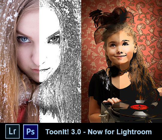 ToonIt! Photo 3.0 for Lightroom and Photoshop