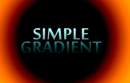 simple gradient photo plugin