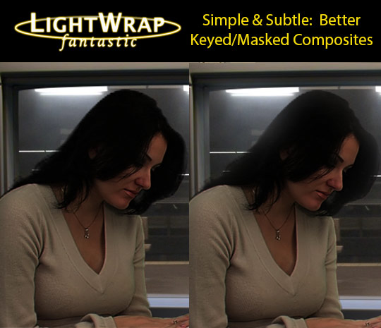 Light Wrap Fantastic - Amazing Green Screen Composites